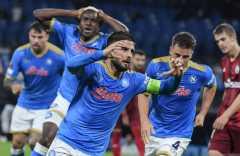 Napoli libas Legia Warsawa tiga gol tanpa balas